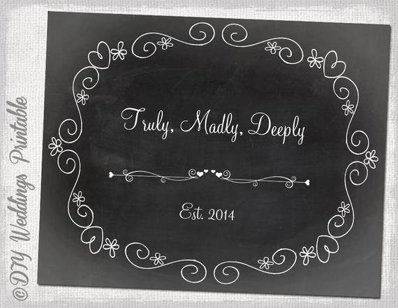 Chalkboard Template Microsoft Word Elegant Chalkboard Wedding Sign Template Diy Black & White