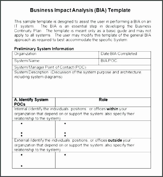 Change Impact Analysis Template Awesome Business Change Impact assessment Template