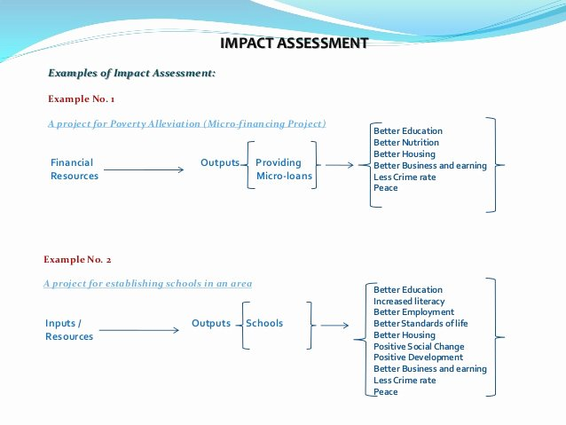 Change Impact Analysis Template Lovely Impact assessment In Project Management