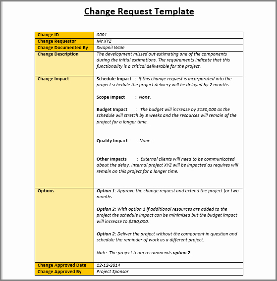 Change Management form Template Awesome Change Management Plan Process and Templates Excel