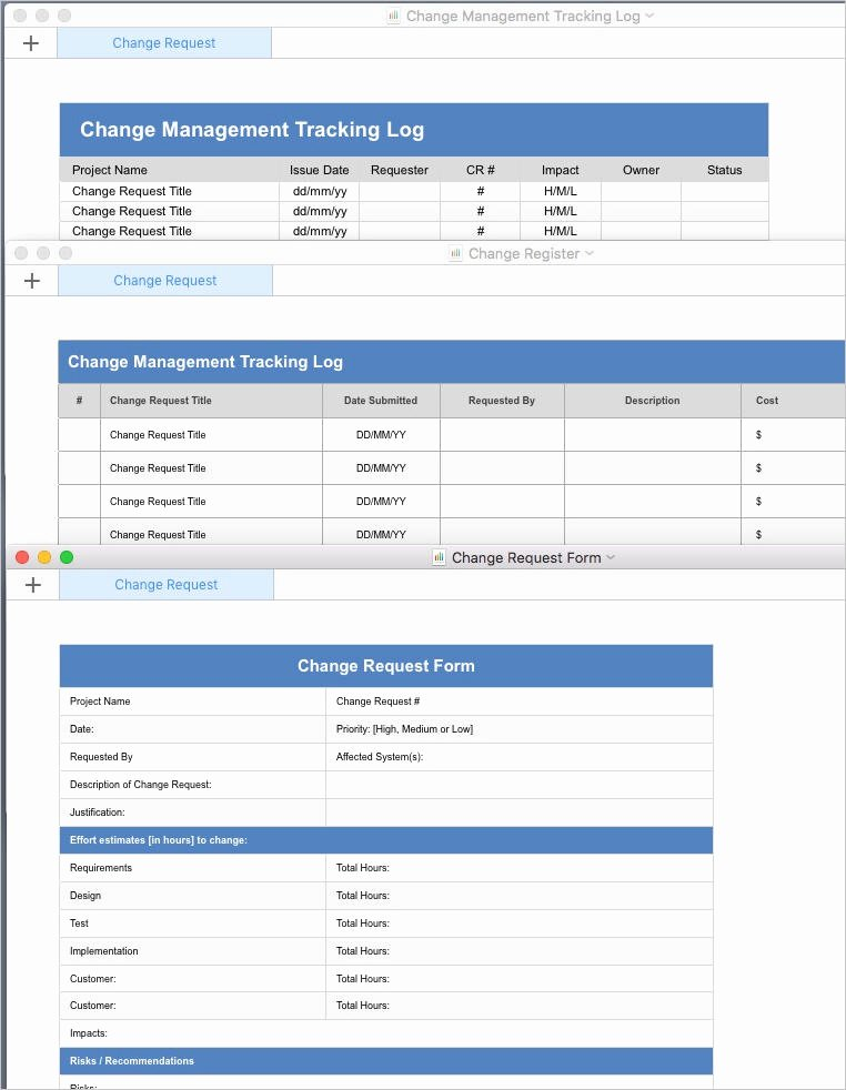 Change Management Plan Template Lovely Change Management Plan Template Apple Iwork Pages