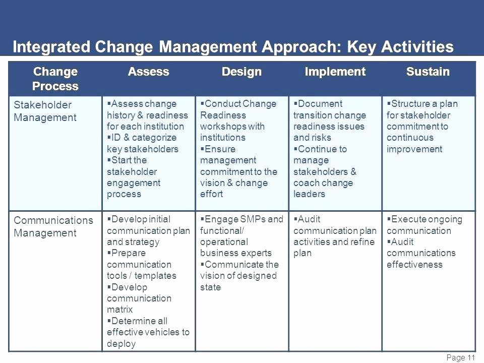 Change Management Strategy Template Lovely Sample Day Plan Templates Sample Templates Day Transition