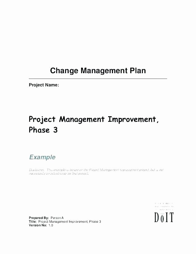 Change Management Template Excel Inspirational Change Management Plan Template What is Definition From