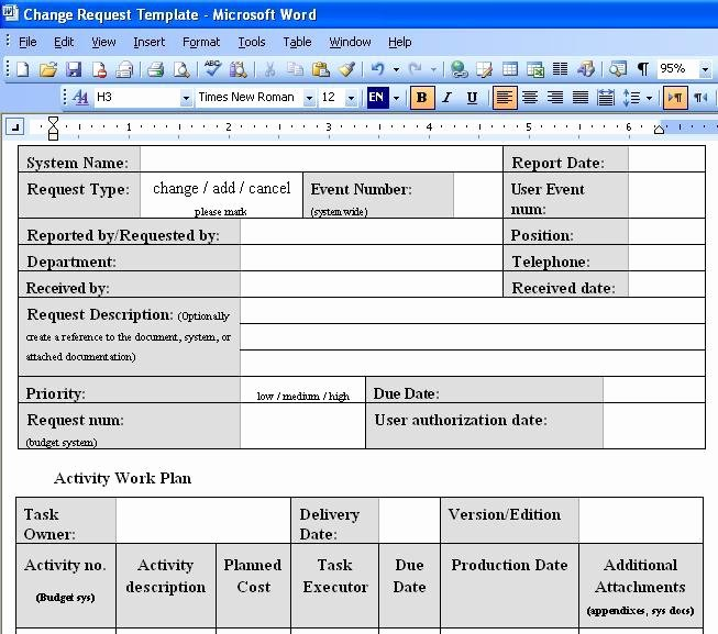 Change order Template Excel Luxury Free Download Change order Template Excel Free