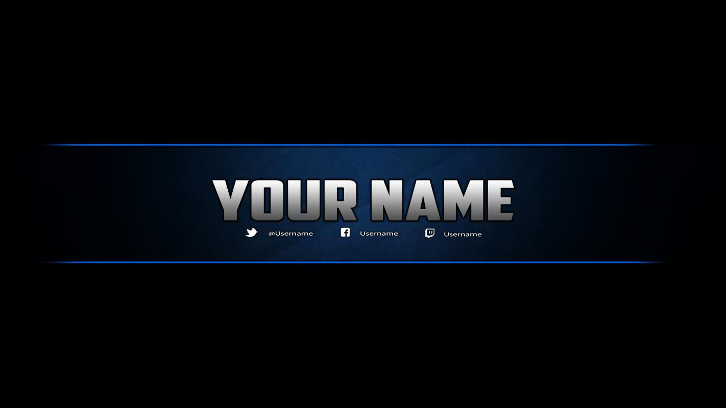 Channel Art Template Photoshop Unique Youtube Banner Templates
