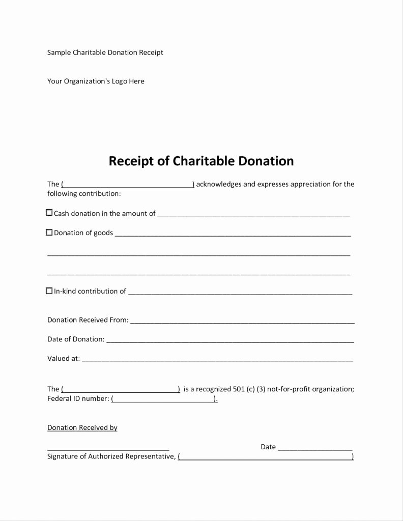 Charitable Donation form Template Beautiful Charitable Donation Receipt Letter Template Cv Templates