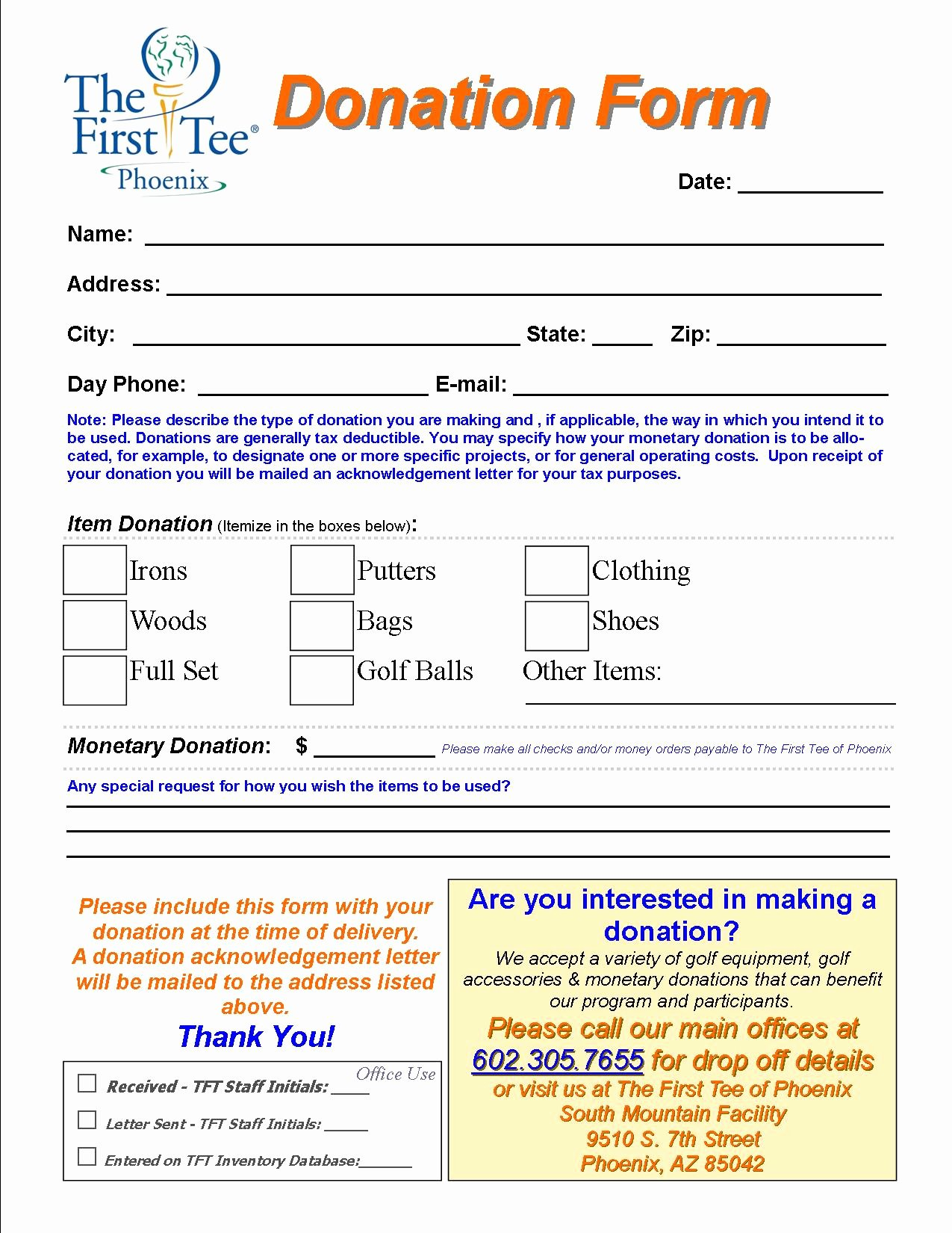 Charitable Donation form Template Lovely Charitable Donation form Template