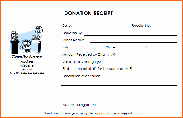 Charitable Donation Receipt Template Best Of Ultimate Guide to the Donation Receipt 7 Must Haves & 6