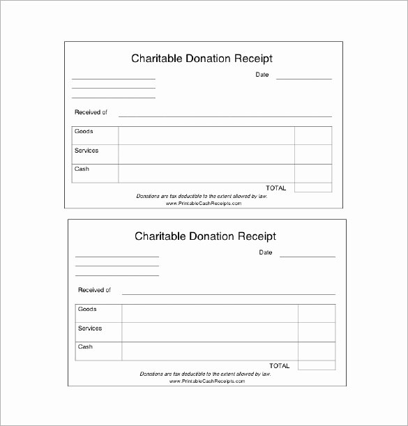 Charitable Donation Receipt Template Inspirational 18 Donation Receipt Templates Doc Pdf