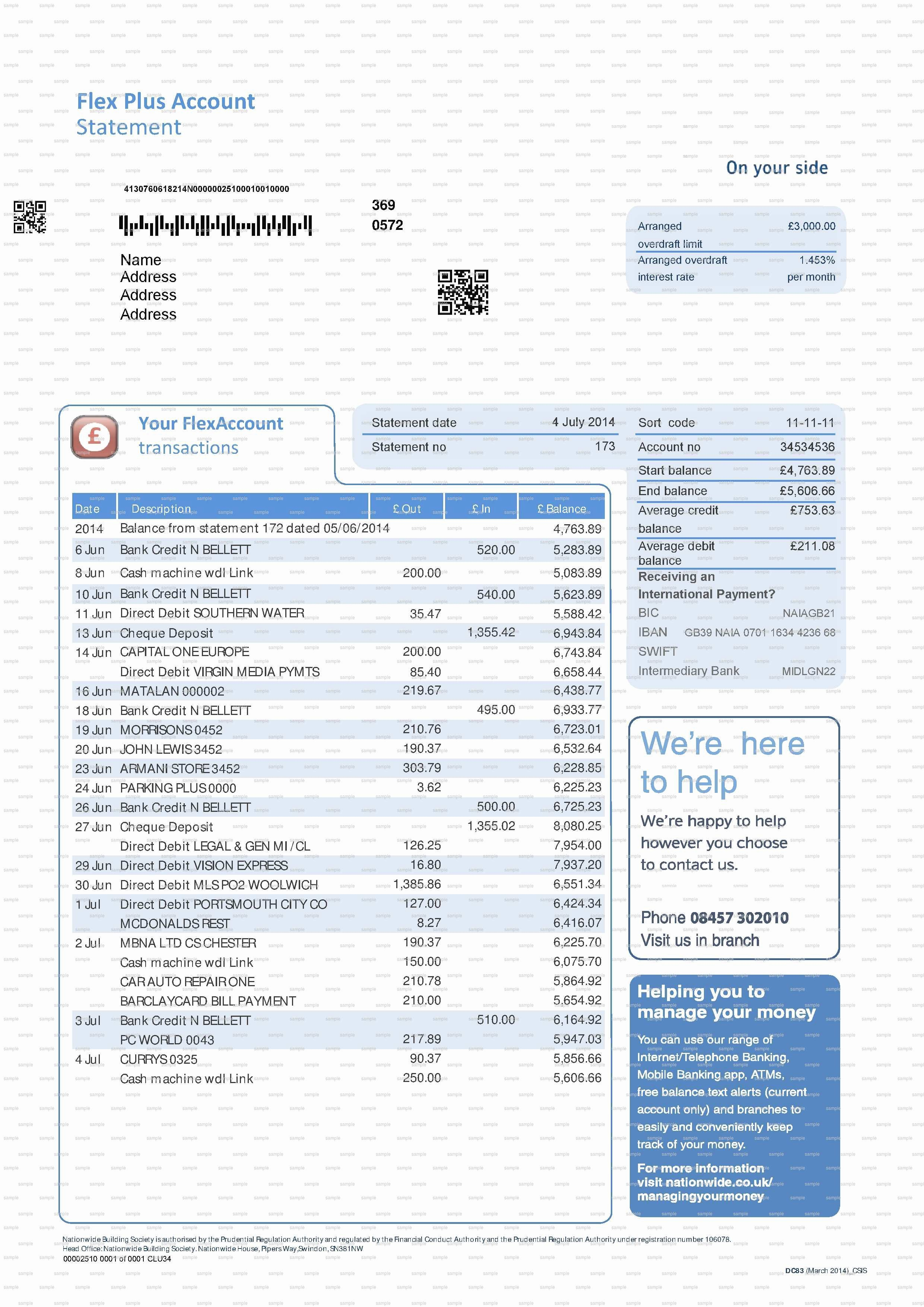 Chase Bank Statement Template Lovely Inspirational Fake Chase Bank Statement Template Free
