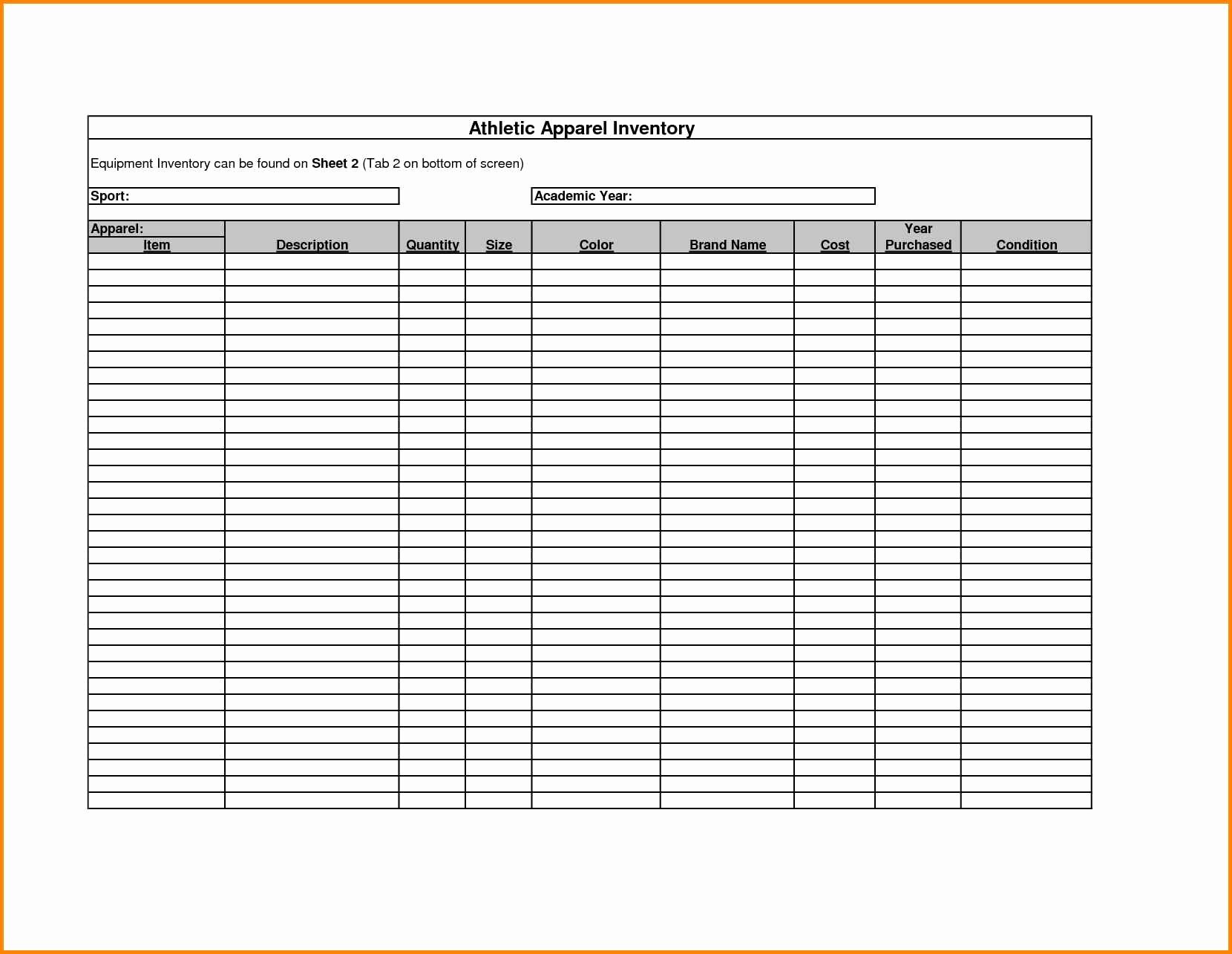 Check Out Sheet Template Luxury Inventory Sign Out Sheetlate Checklist Sample List for