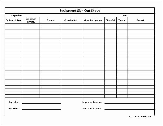 Check Out Sheet Template Unique Inventory Check Out Sheet Template Templates Station