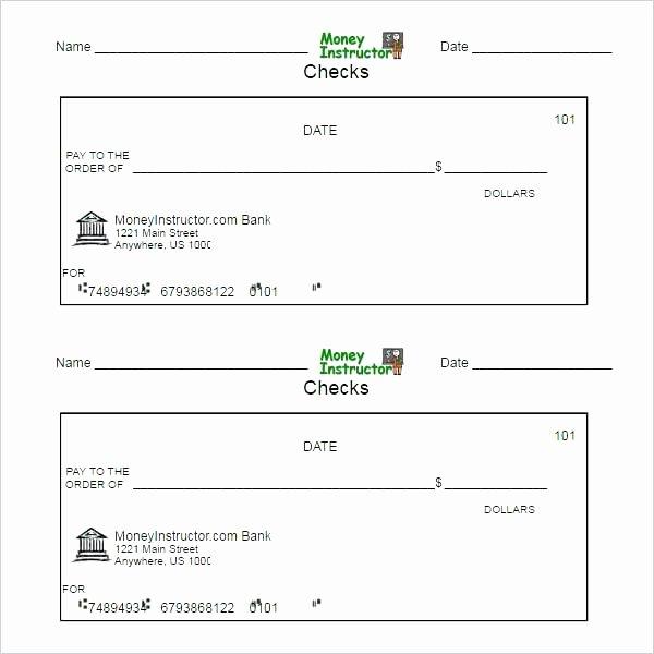 Check Printing Template Word Lovely Printable Business Check Template – Kazakiafo