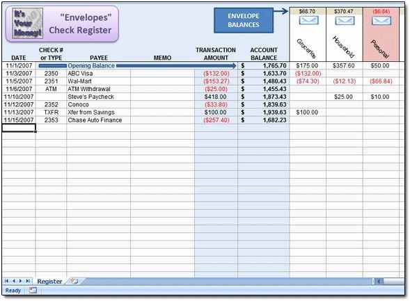 Check Register Template Excel Elegant 25 Best Ideas About Check Register On Pinterest