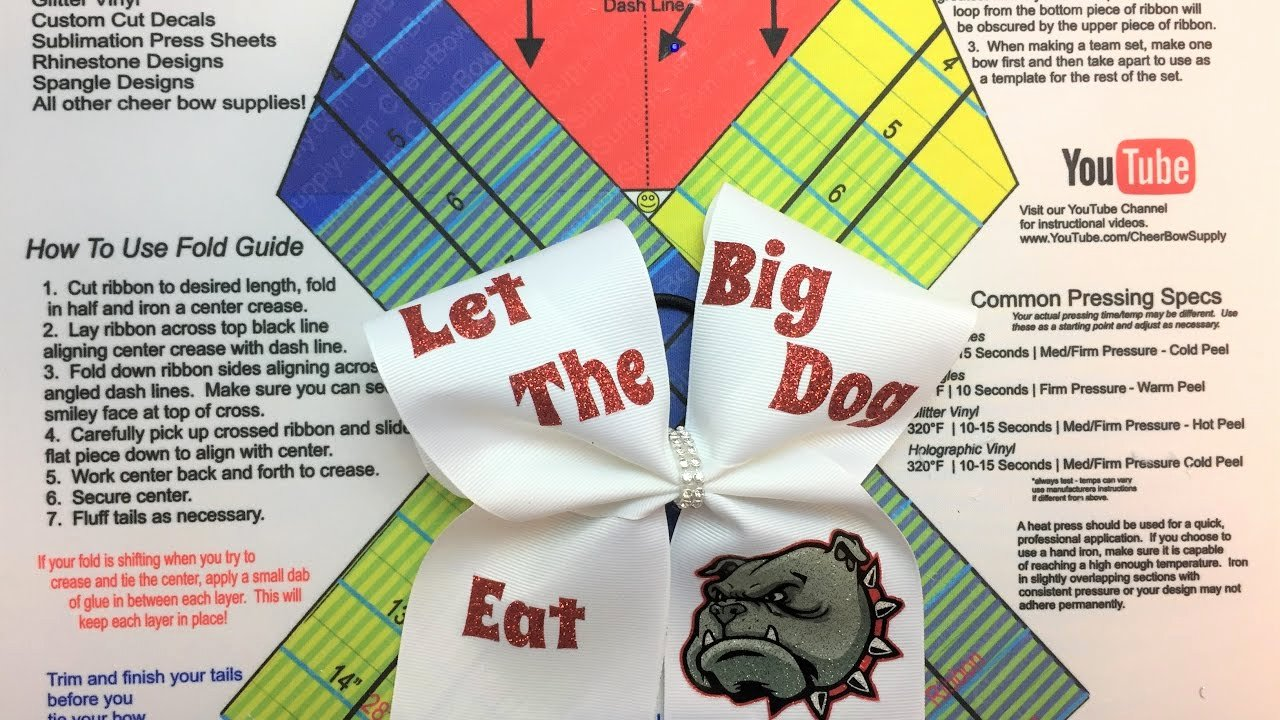 Cheer Bow Design Template Awesome How to Make Cheer Bows with Text and Graphics