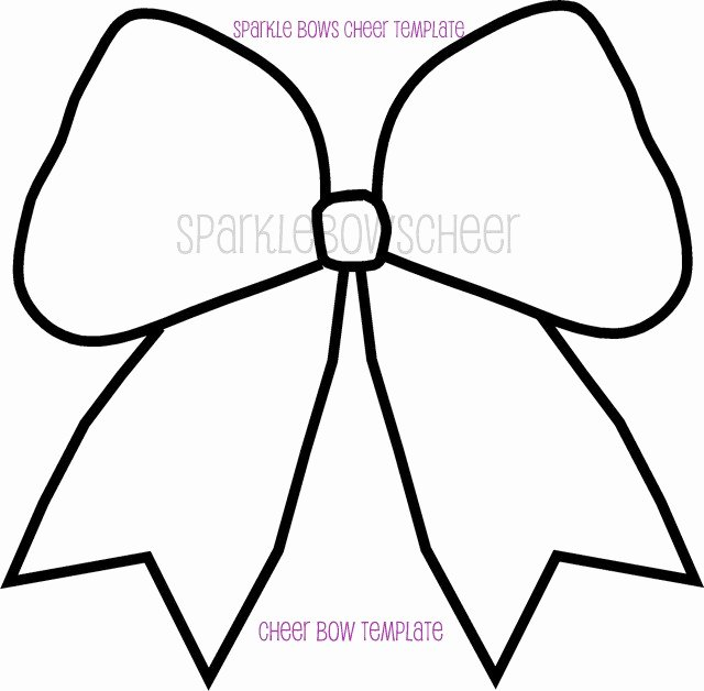 Cheer Bow Design Template Fresh Bow Image