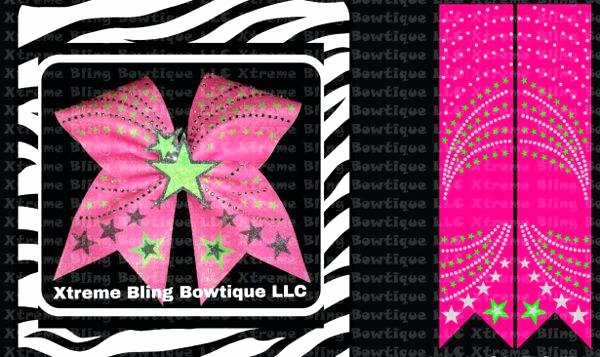 cheer bow template printable sufficient yet free mat maker cone
