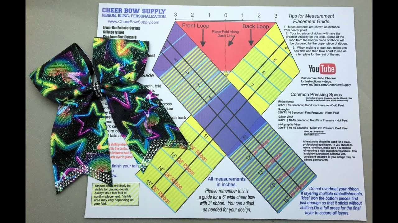 Cheer Bow Design Template Luxury the Easy Way to Make A Cheer Bow