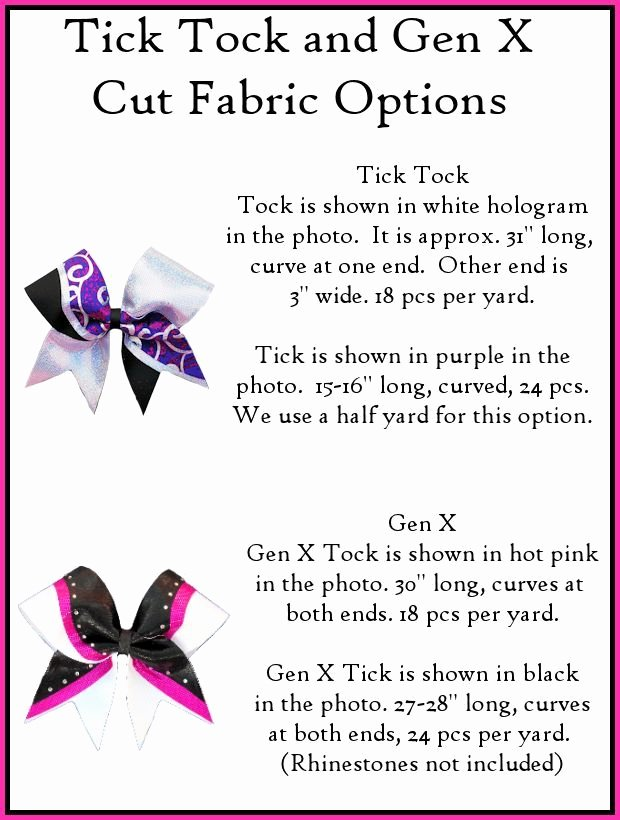 Cheer Bow Design Template New Tick tock Bow Template Bows