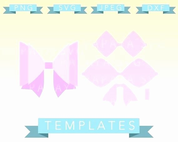 Cheer Bow Template Mat Lovely Cheer Bow Template Image 0 Cheer Bow Template Free
