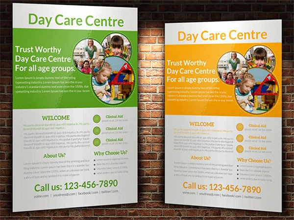 Child Care Flyer Template Fresh 15 Day Care Flyers