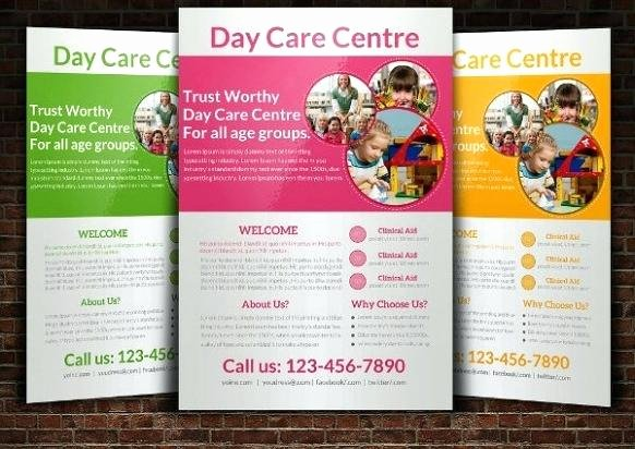 Child Care Flyer Template Fresh Child Care Flyer Template – athoise