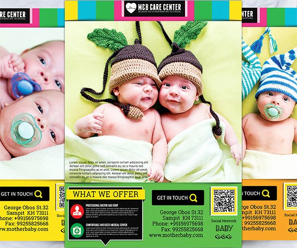 Child Care Flyer Template Inspirational 15 Day Care Flyers