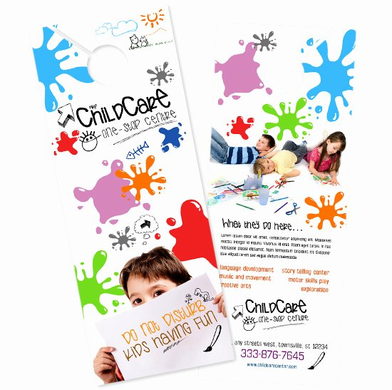 Child Care Flyer Template Inspirational Child Care Brochure Templates Daycare Flyer Child Care