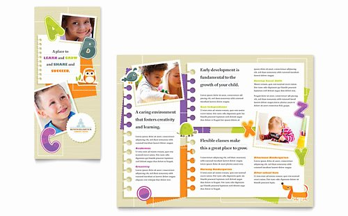 Child Care Flyer Template Lovely Child Care Brochures