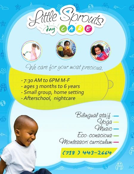 Child Care Flyer Template Unique 25 Unique Daycare Design Ideas On Pinterest