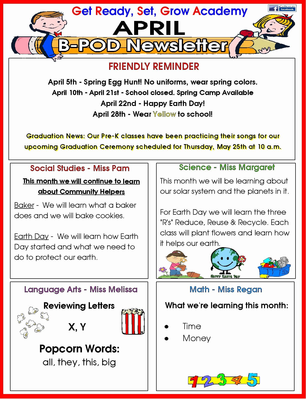 Child Care Newsletter Template Elegant Delray Beach Day Care Facility