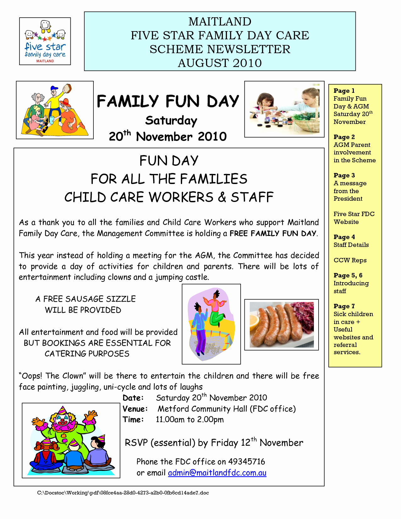 Child Care Newsletter Template Inspirational 6 Best Of March Newsletter Day Care Sample Parent