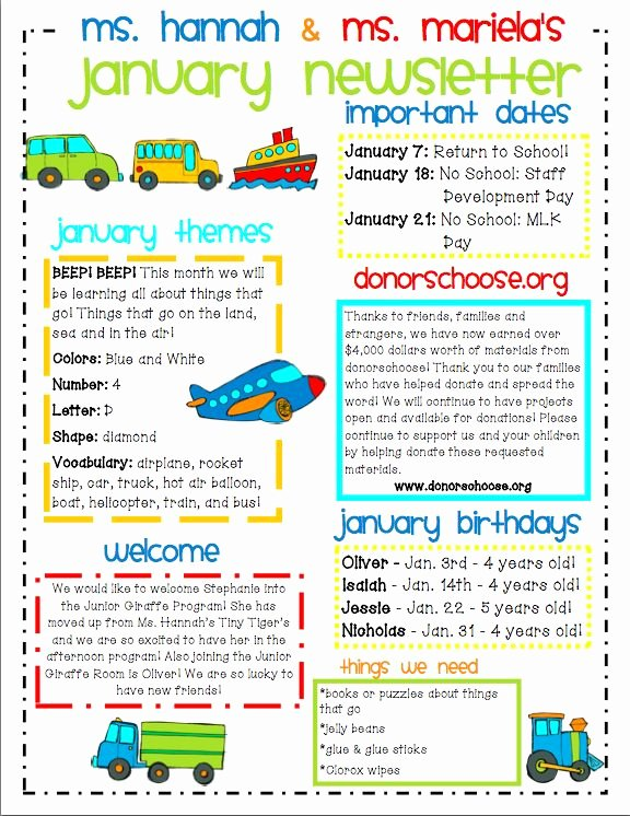 Child Care Newsletter Template Unique Ideas for Municating with Parents