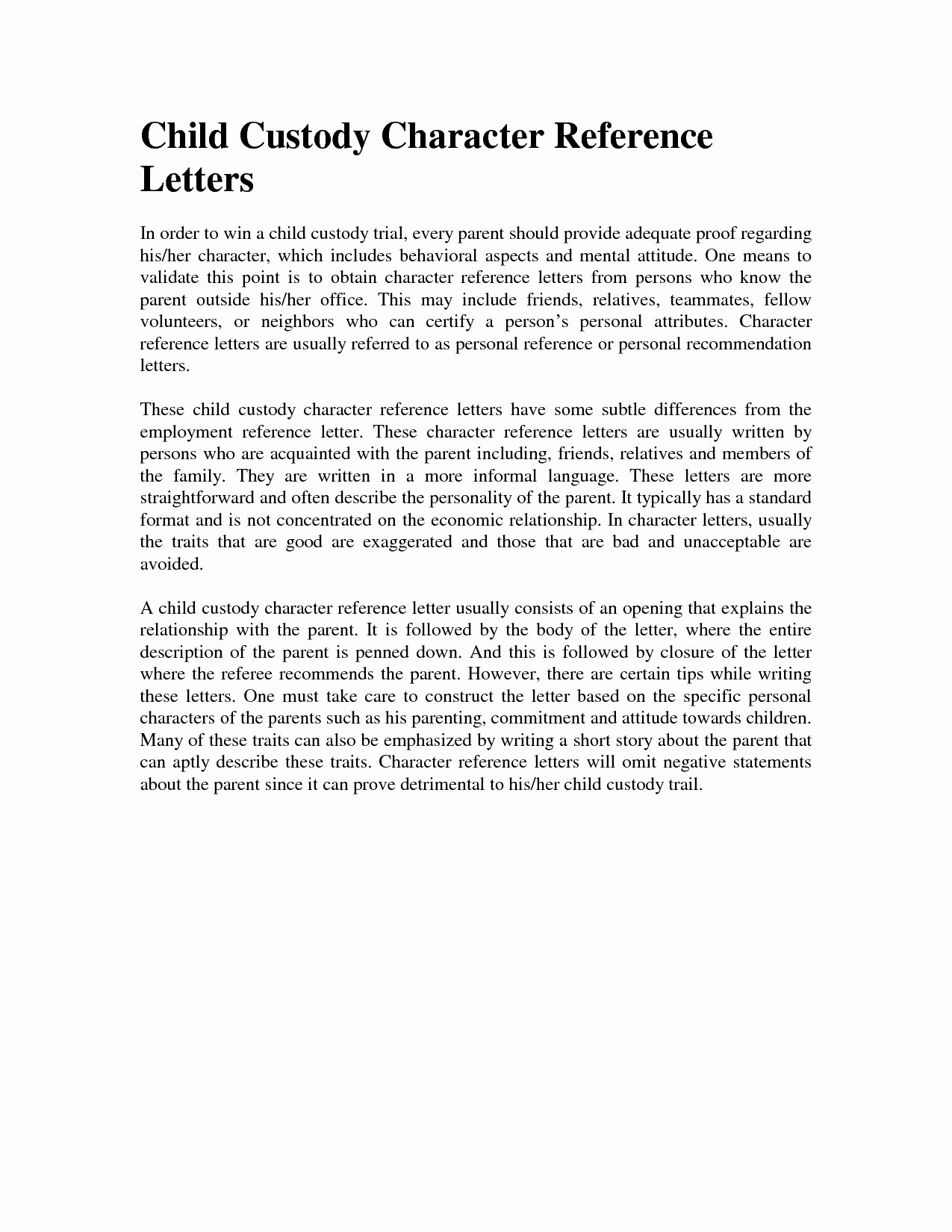 Child Custody Letter Template Elegant Child Custody Letter Template Samples