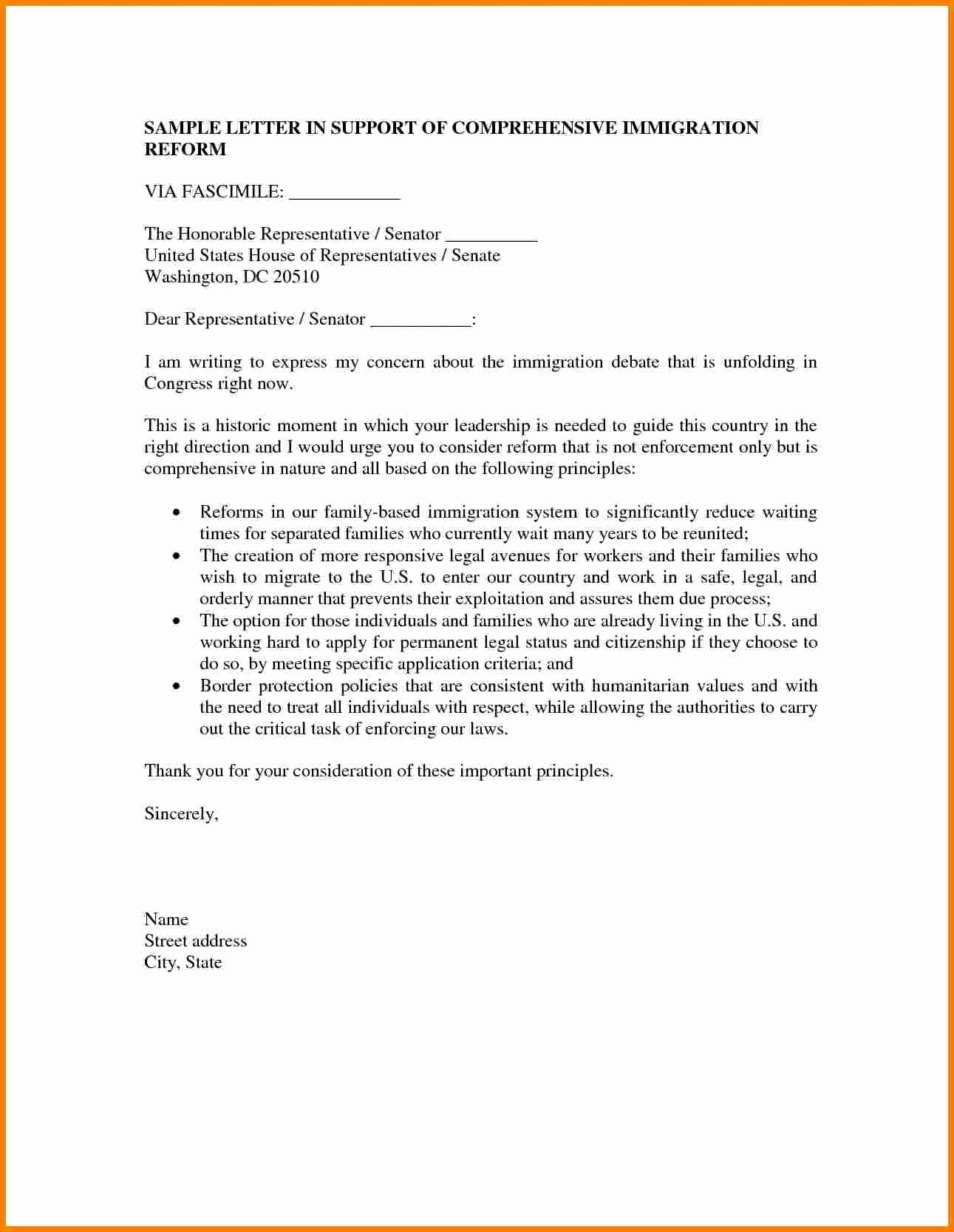 Child Support Letter Template Luxury 5 Immigration Letter Of Support for A Friend