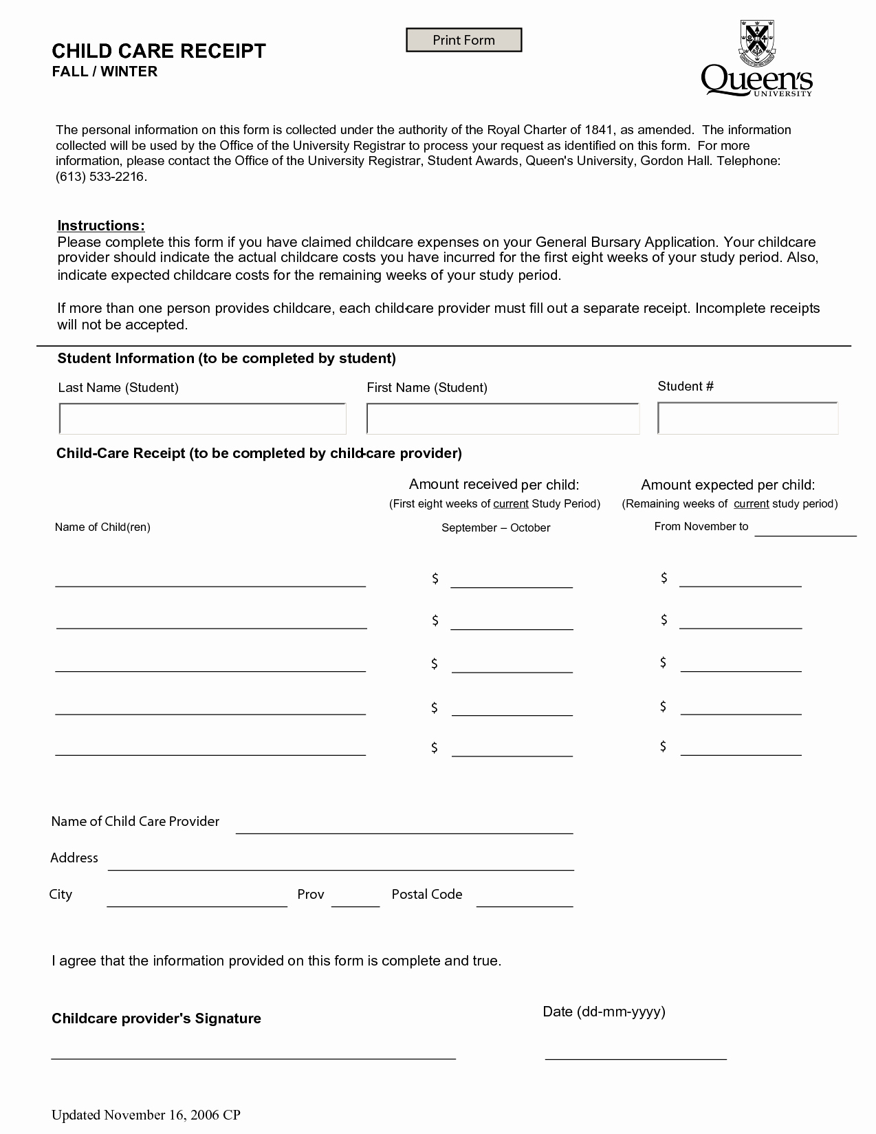 Child Support Receipt Template Best Of Receipt Template Category Page 6 Efoza