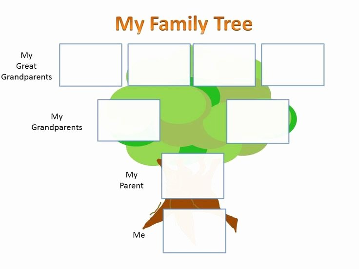 Children Family Tree Template Beautiful Pin by Peter Johnston On Sticky Notes Pinterest