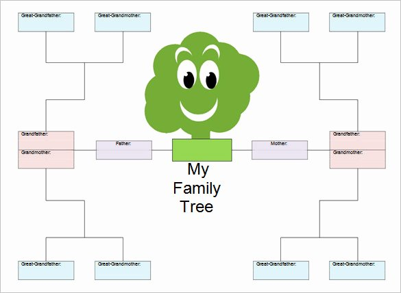 Children Family Tree Template Best Of 33 Genogram Templates Pdf Doc Psd
