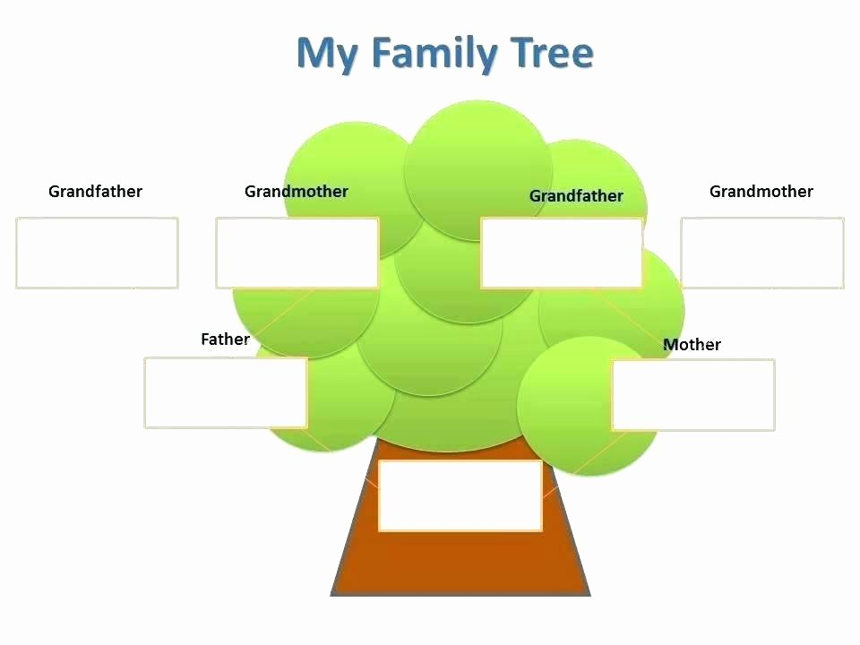 Children Family Tree Template Best Of Free Family Template Genealogy Tree Template Family
