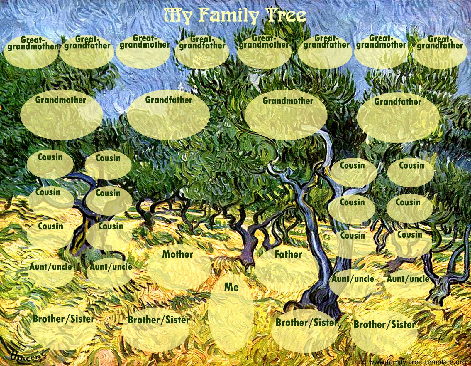 Children Family Tree Template Elegant Family Tree Template for Kids Printable Genealogy Charts