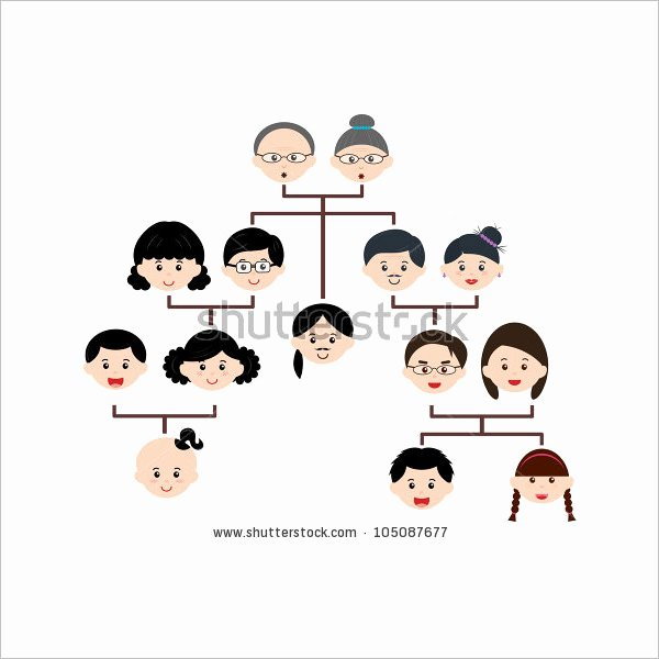 Children Family Tree Template Elegant Fun Family Tree Template Templates Data