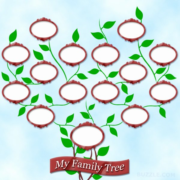 Children Family Tree Template Lovely Family Tree Pattern Printable Clipart Best