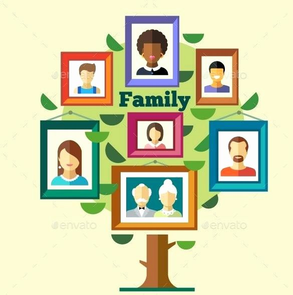 Children Family Tree Template Lovely Free Family Tree Templates Word Excel Template Lab
