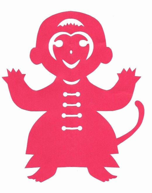 Chinese Paper Cut Template Lovely Crafts for Kids Chinese Style and New Year S On Pinterest