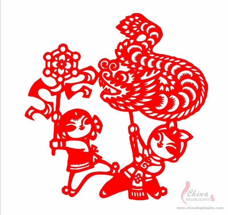 Chinese Paper Cutting Template Beautiful Projects