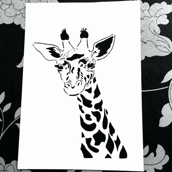 Chinese Paper Cutting Template Best Of Giraffe Paper Cut Design Template Personal Use by Cutting
