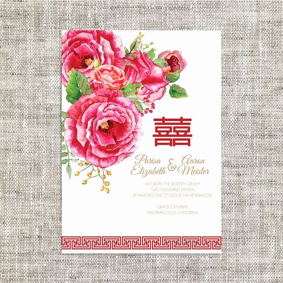 Chinese Wedding Invitations Template Lovely Best 25 Wedding Invitation Card Template Ideas On