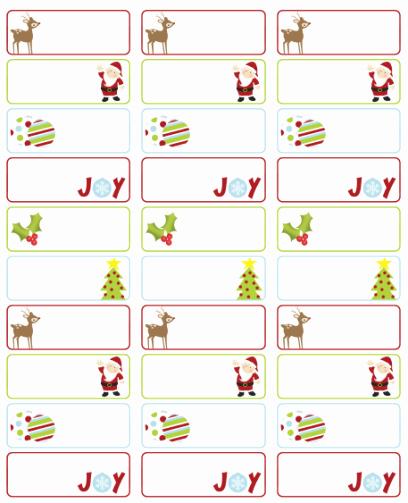 Christmas Address Labels Template Unique Address Labels Free Address Label Templates On Pinterest