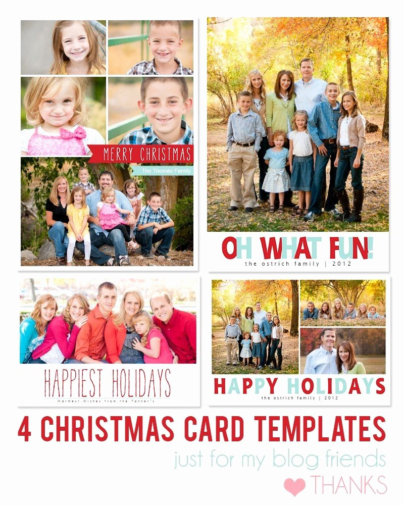 Christmas Card Template Photoshop Fresh Free Shop Holiday Card Templates From Mom and Camera
