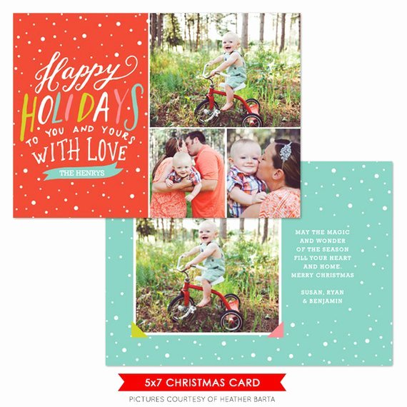 Christmas Card Template Photoshop Luxury Items Similar to Instant Download Christmas Card